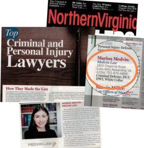 DUI Lawyers in Fairfax VA